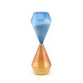 Mehrfarbige Glassanduhr