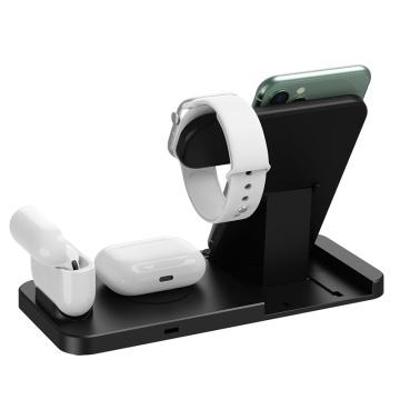 cargador de reloj y teléfono de apple / cargador inalámbrico iphone xr