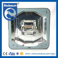 Factory promotion price gas station led canopy lights with toughened glass