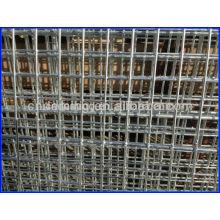 Malla de alambre de acero al carbono de bajo carbono soldada