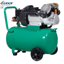 cheap small V 2 cylinder 3hp 50L electric portable piston air compressor for sale
