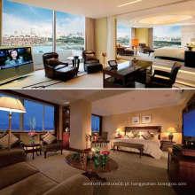 Mobiliário de quarto de hotel clássico