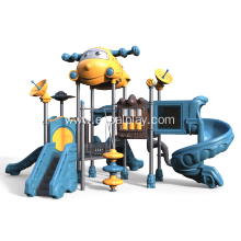 High quality factory for kids playground Aircraft Castle Large Amusement Slide Complex, New Outdoor Playground Equipment export to New Zealand Factory