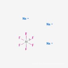 cryolite ajoutée à l'oxyde d'aluminium