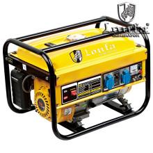 Generador de gasolina portátil de gasolina de 2.5kVA 6.5HP Genset