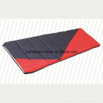 Polyester Mixed Color Camping Envelopper Sleeping Bag