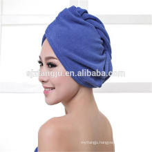 high quality 25*65cm,300gsm Hair Drying Towel with Buttons