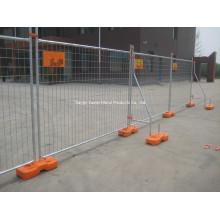 Hot DIP Galvanisé Clôture temporaire / Anti-Climb Temporairement escrime / Galvanisé Temporairement soudé Wire Steel Fence