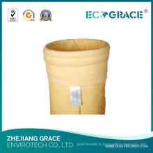 Poudre de filtre de collecteur de la poussière de tissu de l'industrie P84 de fonte