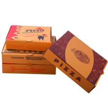 """Premium 13 """"Pizza Box Branco Papelão Ondulado Caixa de Papelão Recipiente para Entrega"""