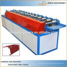 Machine de formage de rouleaux de feuilles de porte en rouleau d'obturateur en aluminium