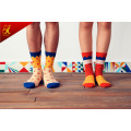 Корейская версия небольшой свежий хлопок носки мужской и женской пара цветные конфеты любовь носки жаккардовые оптовых производителей