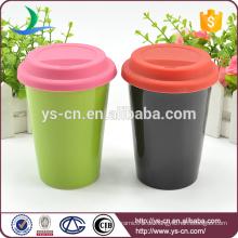 2015 Keramik Doppelschicht Tasse ohne Griff
