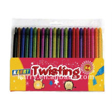 24 Farben Wachsmalstifte