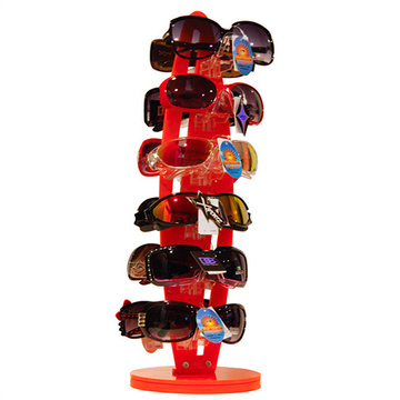 New Fashion Design 6-Pair Sunglasses Eye Glasses Frame Display Rack