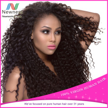 Wholesale 100% unprocessed 5a 6a 7a 8a brazilian afro kinky bulk human hair