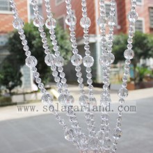 Acrylic Crystal Beaded Curtains Hanging Door Beads Curtain