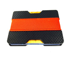 Magic Carbon Fiber Card Holder Wallet For Sale