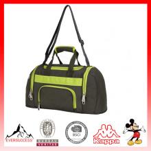 Nuevo bolso de lona del gimnasio de la moda del diseño, bolso promocional de los deportes de encargo