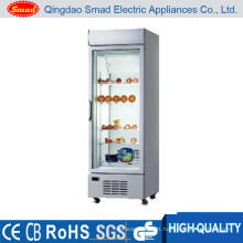 Commercial Glass Door Upright Display Refrigerator Freezer