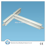 2016 False ceiling t bar suspended ceiling