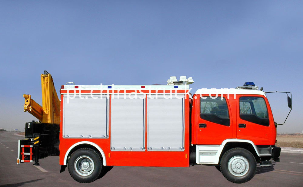 Isuzu Rescue Fire Truck