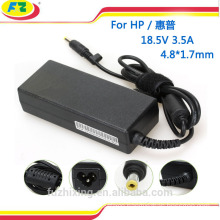 Laptop Adapter 18.5V 3.5A for hp Power Supply 65W Power Bank for hp made in china