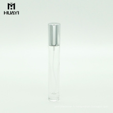 Vente chaude rechargeable 10 ml fine brume parfum verre vaporisateur