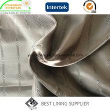 Tissu de doublure tissé par polyester de deux tons de 100