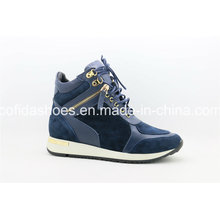 Updated Fashion Style Leather Lady Casual Shoes