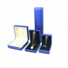 Jewelry ring box with led light