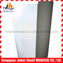 High Reflective PU/PVC Leather for Brand Patch and Logo