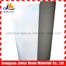 Couro de alta reflexiva PU/PVC para Patch de marca e logotipo
