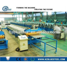 Aluminum Corrugated And IBR Steel Roof Sheet Making Machine / Sheet Metal Roofing Panel Roll Forming Machine