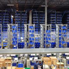 Cold Rolled Steel Automated Storage Retrieval System