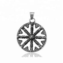 33533 xuping Mais novo design de moda jóias de Aço Inoxidável preto arma cor legal pingente