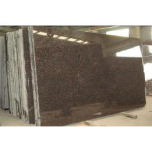 Indian Tan Brown Granite Stone Slabs for Coffee Coral Proje