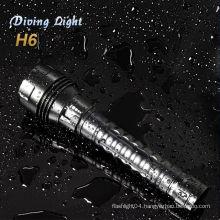 stepless magnetic diving flashlight cree xml t6 led flashlight