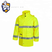 High visibility safety vests Clothing reflective Jacket for men