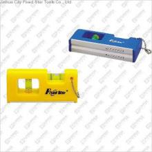 Plastic Mini Spirit Level With Key Chain,FSB-09