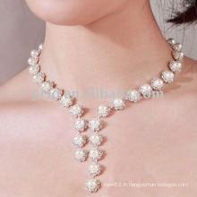 Ensemble de bijoux de mariage le plus vendu