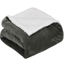 sherpa pet dog blanket car lap microfiber blanket