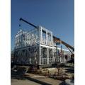 xinnuo galga ligera que enmarca la casa de acero prefabricada de la estructura del chalet