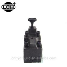 Type Yuken 100l / min avec vanne de régulation 160bar 80l / min