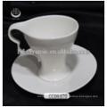 Керамическая чашка кофе с блюдцем, заказ керамической чашки чая и блюдце, керамическая чашка и блюдце с логотипом