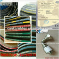 High pressure hydraulic rubber hose/fittings SAEJ517-100R2AT