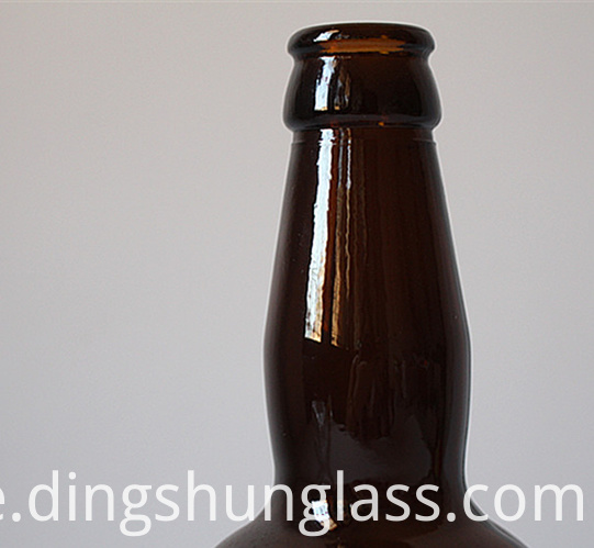 Glass bottle for high-end wine