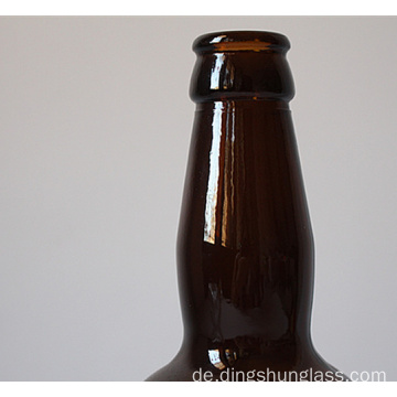 Brown-Glasbierflasche