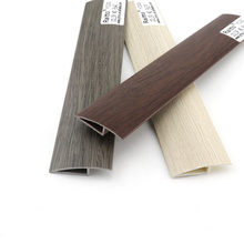 Surface Printed PVC Reducer Plastic Skirting Board Manufacturer,YG30