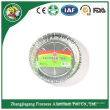 Schnellimbiß-wegwerfbarer aufgeteilter Aluminiumfolie-Behälter